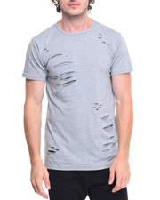 Men - Ripped Fishtail Tee