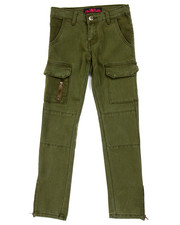 Sizes 7-16 - Big Kids - TWILL CARGO SKINNY PANTS (7-16)