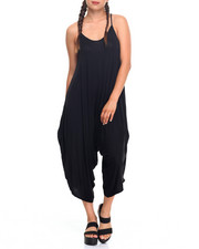 Women - Athleisure Stretch Jersey Jumpsuit