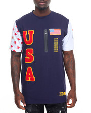 T-Shirts - U S A S/S Tee