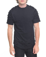 Men - Rip & Tear Tee w Zip Detail