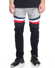 Men - Multi - Panel Fleece Pants