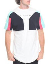 Men - Multi Color Panel Tee