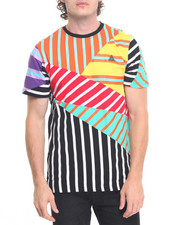 Men - Mixed Stripe S/S Tee