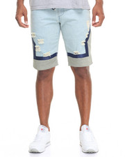 Men - Hybrid Denim Basketball Shorts
