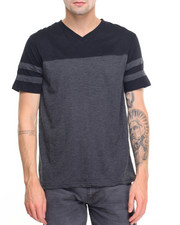 Shirts - Football Slub V-Neck Tee