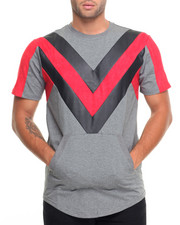 Men - Chevron Fishtail Front - Pocket S/S Tee