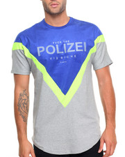 Men - Polizei Pieced S/S Tee