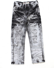 Boys - DISTRESSED CLOUD WASH JEANS (4-7)