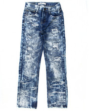 Arcade Styles - DISTRESSED CLOUD WASH JEANS (8-20)