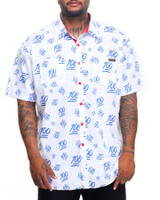 Enyce - 100s S/S Button-Down (B&T)