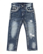 Boys - PREMIUM FLAP POCKET JEANS (4-7)