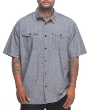 Men - Chambray S/S Button-Down (B&T)