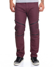 Men - Biker Coated Jean w  Coated Zipper