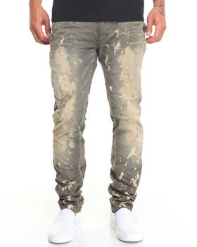 Denim - Savoy Defense Inked Bleached Jean