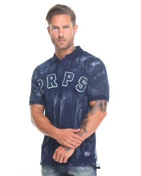Shirts - Unity PRPS Indigo Rinse Polo