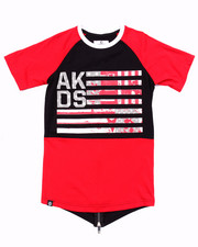 Akademiks - ELONGATED AKA FLAG TEE (8-20)