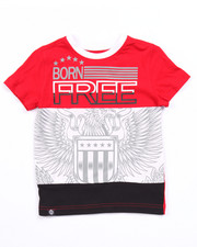 Boys - CUT & SEW BORN FREE TEE (4-7)
