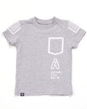 Tops - LEGACY POCKET TEE (2T-4T)