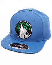 Men - TIMBERWOLF LOGO BALL GATOR - PRINT LEATHER - BRIM STRAPBACK HAT