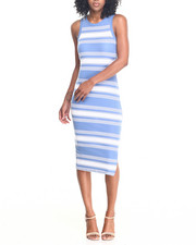 Fashion Lab - Lo Sleeveless Midi Dress