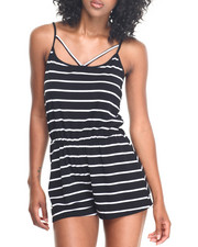 Jumpsuits - Strappy Romper
