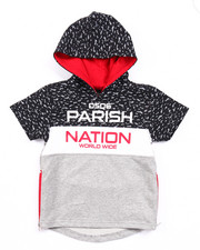 Boys - BLOC NATION S/S FRENCH TERRY HOODY (2T-4T)