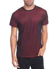 Men - MESH S/S TEE WITH CONTRAST LINING