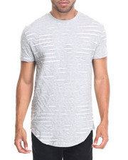 Men - SILIQUE RIPPED S/S TEE