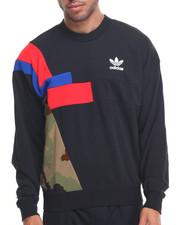 Adidas - BLOCK CAMO - TRIM CREWNECK SWEATSHIRT