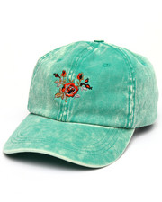 Buyers Picks - Washed Floral Strapback Dad Cap