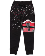 Arcade Styles - STREET BULLIES SPLATTER FRENCH TERRY JOGGERS (8-20)