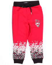 Boys - STREET BULLIES PIXEL FRENCH TERRY JOGGERS (4-7)