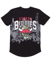 Boys - STREET BULLIES CITY TEE (8-20)