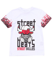 Tops - STREET BULLIES PIXEL TEE (4-7)