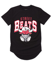 Arcade Styles - ELONGATED STREET BEATS TEE (8-20)