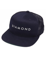 Hats - Diamond Snapback Cap