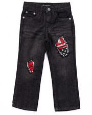 Boys - RIP & REPAIR BORN FREE JEANS (4-7)