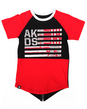 Akademiks - ELONGATED AKA FLAG TEE (4-7)