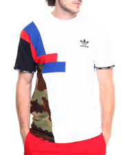 Adidas - BLOCK CAMO - TRIM LONG S/S TEE
