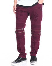 Buyers Picks - Biker Twill Pant w Zip detail