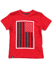 Sizes 2T-4T - Toddler - SLUB AKA FLAG TEE (2T-4T)