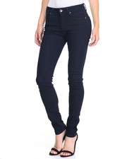 Bottoms - Tone on Tone Wash Stretch Skinny Jean
