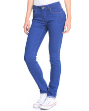 Jeans - Electric Blue Wash Stretch Skinny Jean