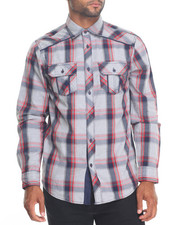 Men - Merwin Plaid Buttondown Shirt