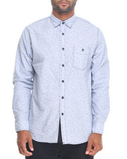 Men - Triangle Pattern Buttondown Shirt