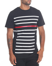 Men - Contrast Stripe Tee