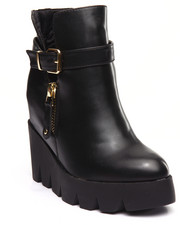 Footwear - Lemex Wedge Bootie