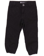 Bottoms - MOTO TWILL JOGGERS (2T-4T)