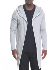 Men - Minimal Elongated Hoody